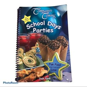 2/$10 Company's Coming School Days Parties Book